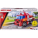 Meccano - 6028420 - Jeu de Construction - Camion de Pompiers Deluxe