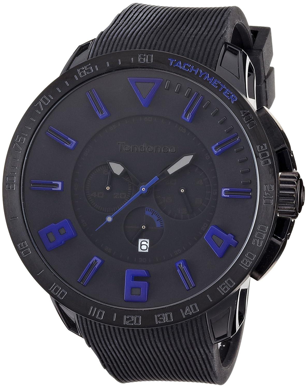 TENDENCE Unisex-Armbanduhr GULLIVER SPORT Analog plastik schwarz TT560004
