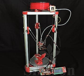 Sintron] Ultimate Impresora 3d Kossel Mini Full Kit completo con ...