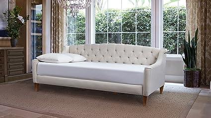 Amazon.com: Jennifer Taylor Home 65000-970 Lucy Sofa Bed Twin Sky ...