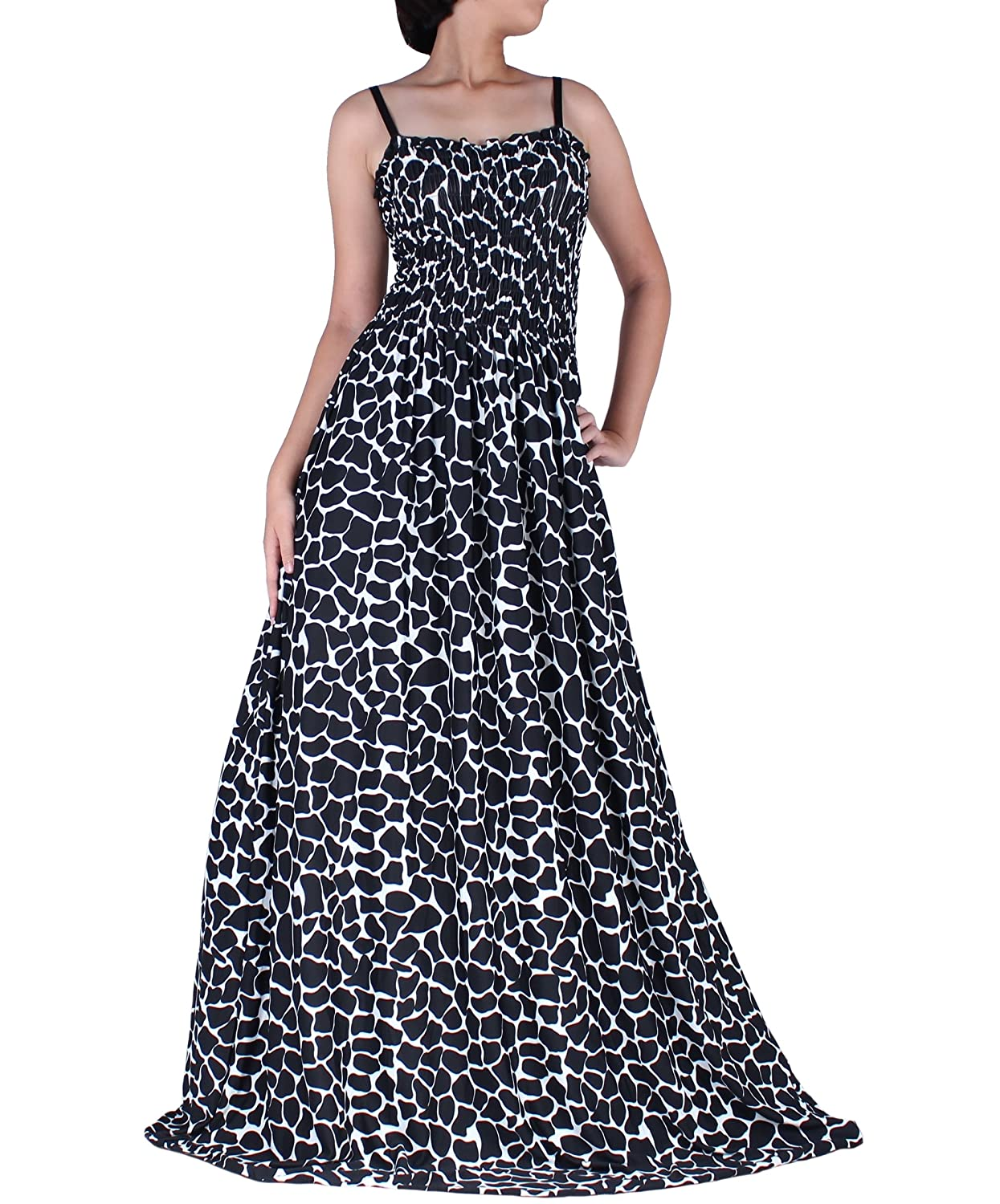 Women Plus Size Maxi Clothing Wide Flare Hem Party Dress Evening High Tea  Casual Dinner B&W