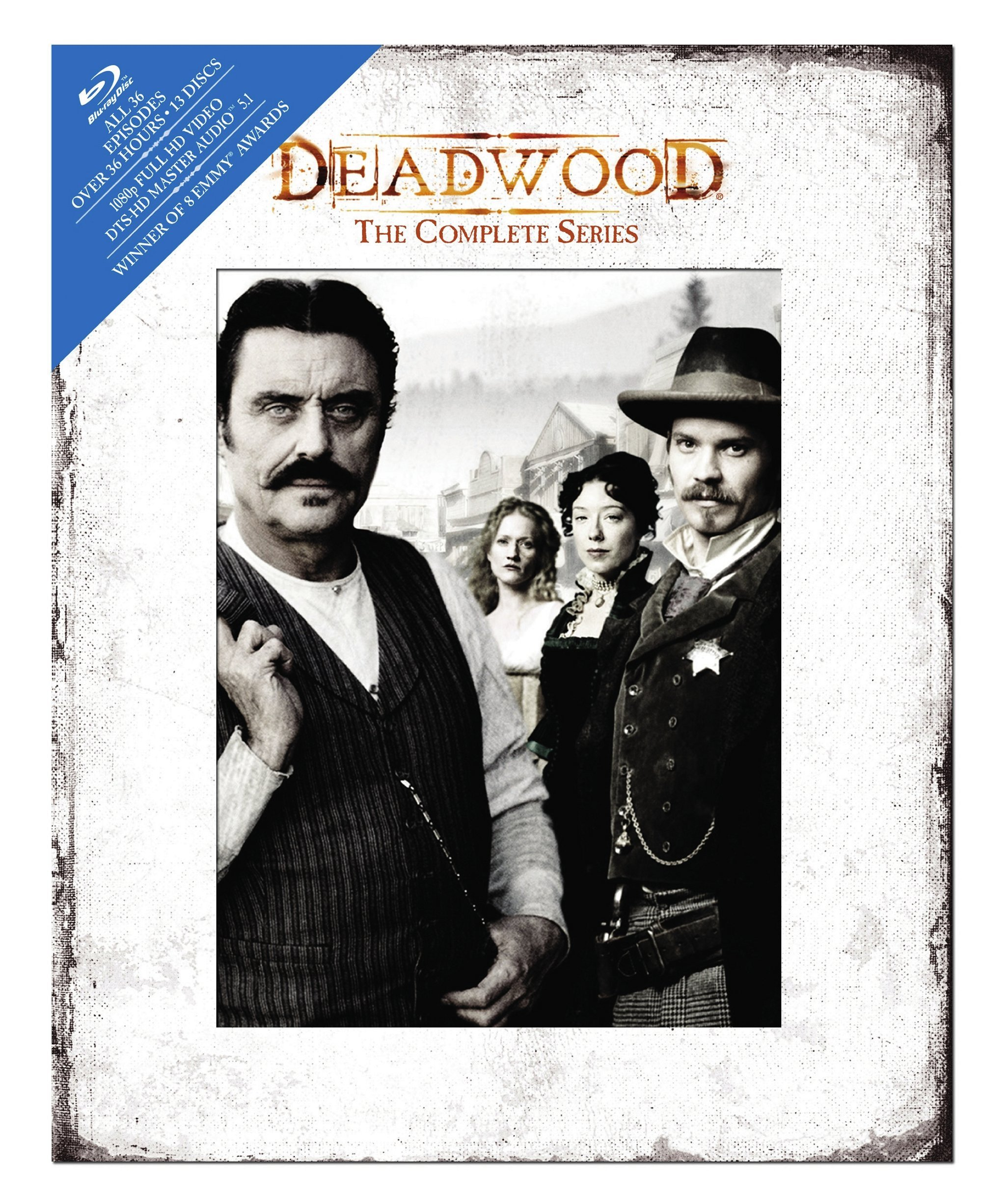 Deadwood: The Complete Series [Blu-ray] by Warner Bros