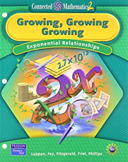 Growing, Growing, Growing: Exponential Relationships (Connected Mathematics 2)