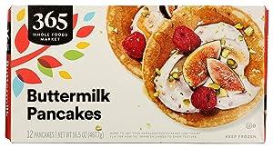 365 by Whole Foods Market, Frozen Buttermilk Pancakes (12 Pancakes), 16.5 Ounce