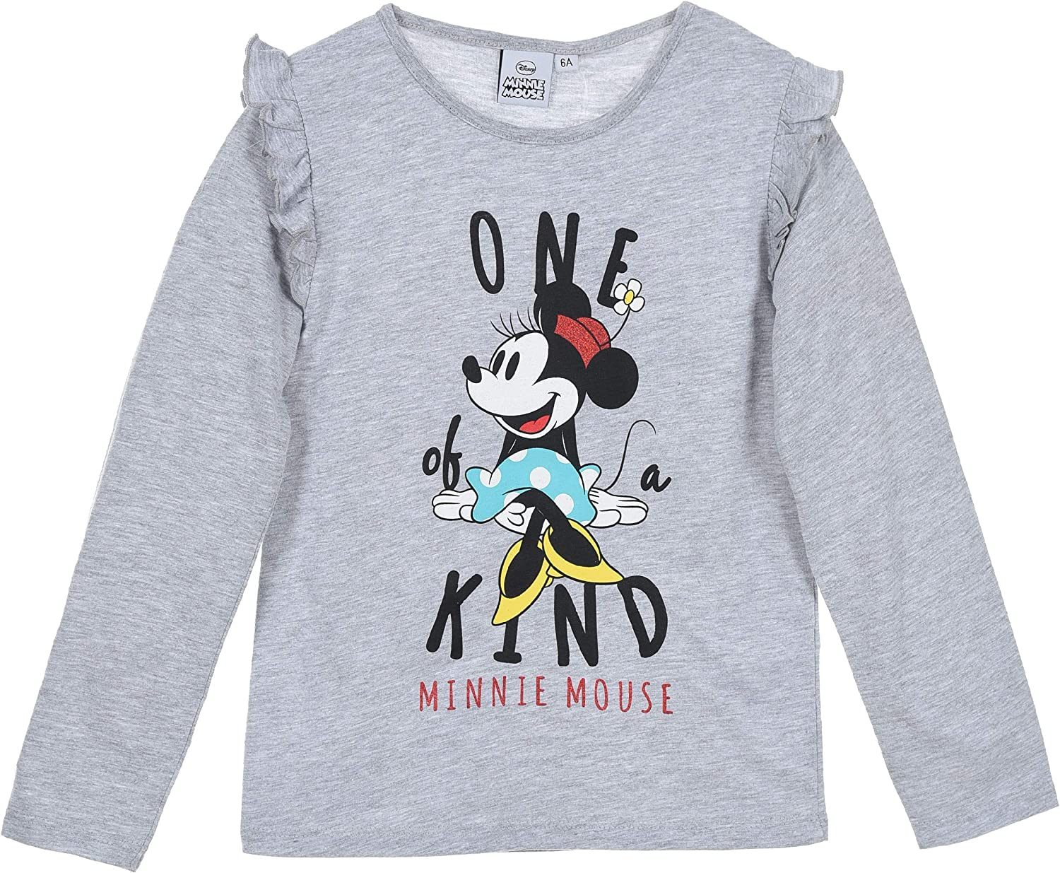 Minnie Mouse T-Shirt Manches Longues Fille