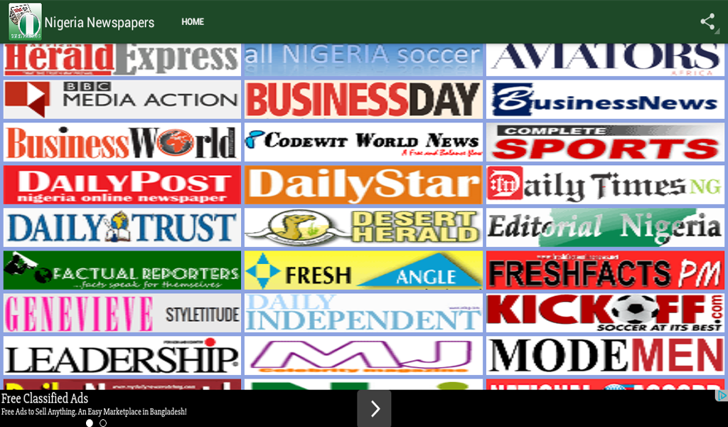 Amazon com: Nigeria Newspapers: Appstore for Android