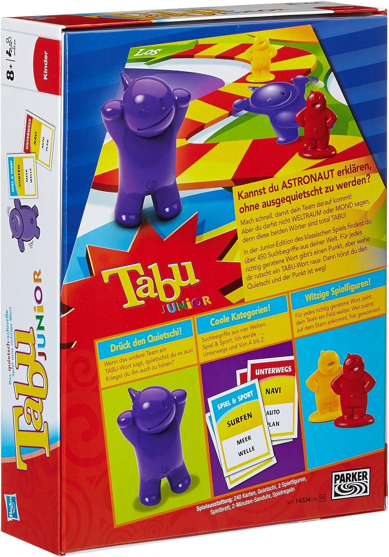 Hasbro Parker 14334100 - Juego de Mesa Tabu Junior (4.ª edición ...