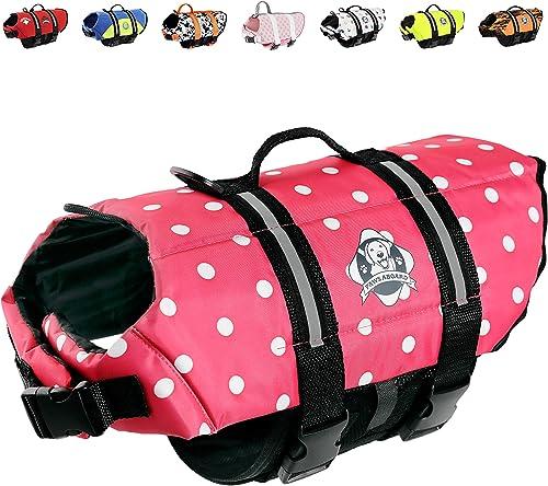 Paws Aboard Pink Polka Dot