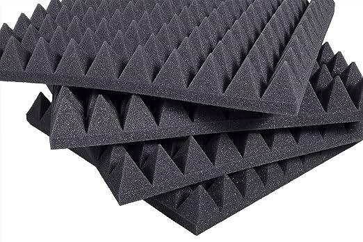 3 opinioni per Pannelli Fonoassorbenti Piramidali 100x100x6cm D21 pacco da 10