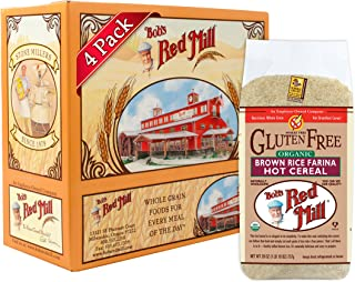 product image for Bob's Red Mill Organic Brown Rice Farina Creamy Rice Hot Cereal, 26 Ounce Bags (Pack of 4)