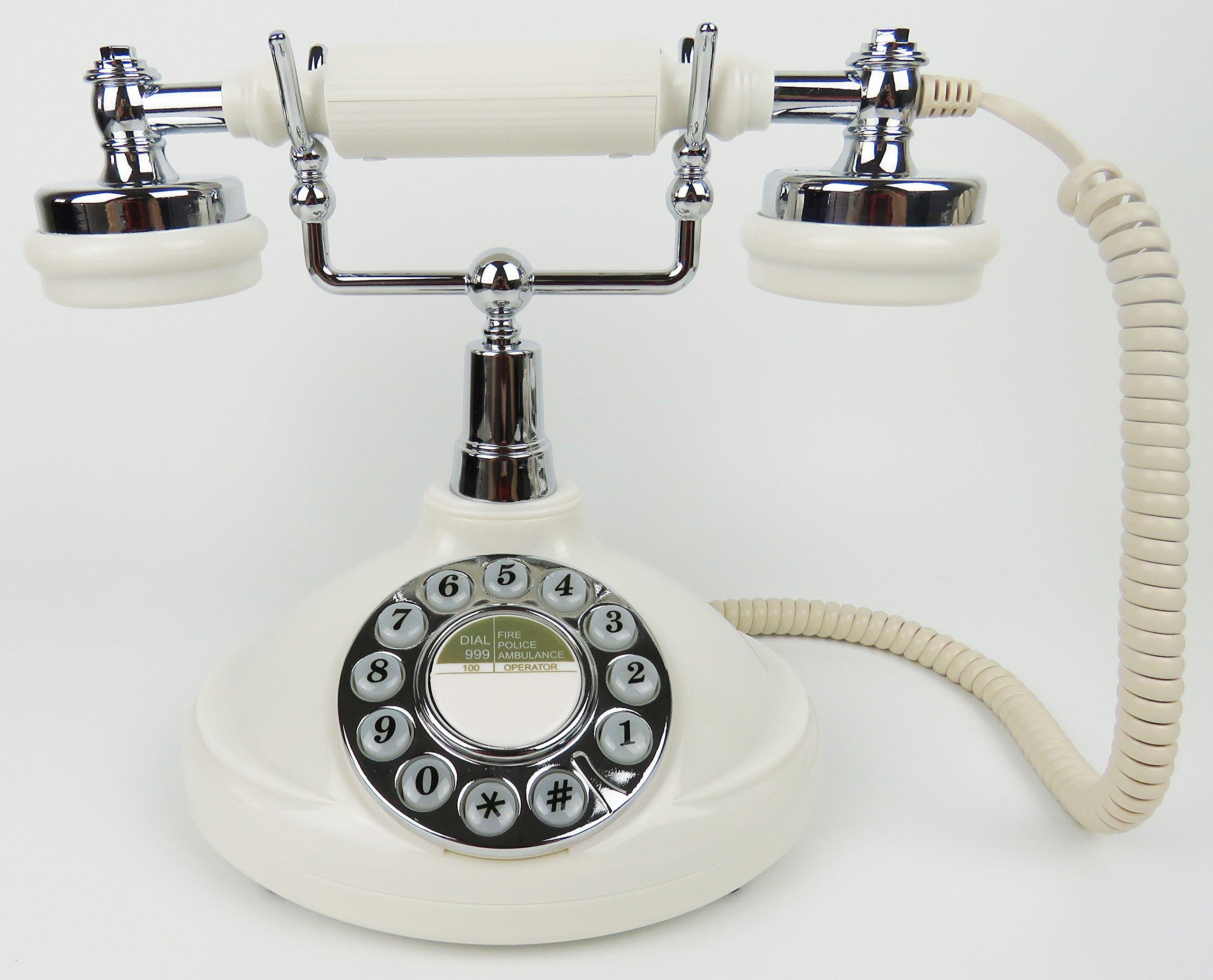 Home Creative Antique Telephone-Classic Desk Phone with Push Botton-1920