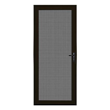 Charmant Titan 32x80 Meshtec Ultimate Security Screen Door | Aluminum Full View With  Meshtec Advanced Screen System