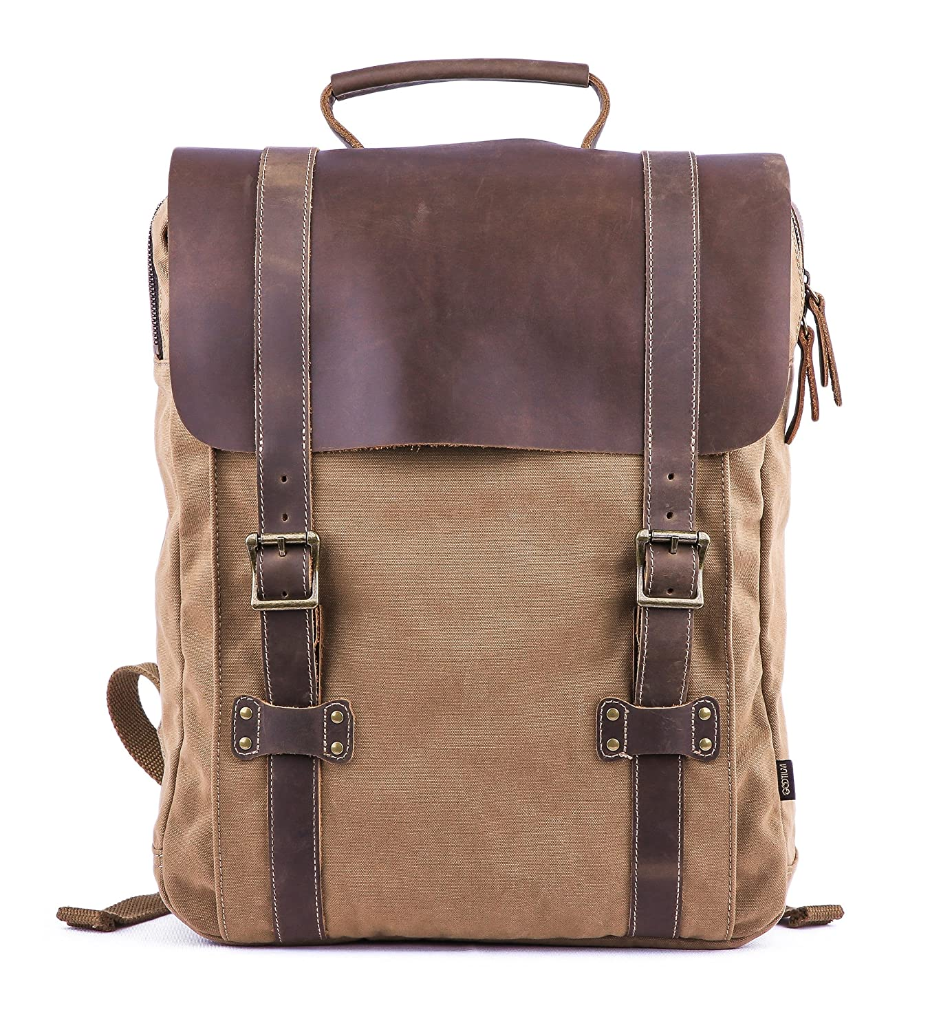 Image result for leather laptop rucksack