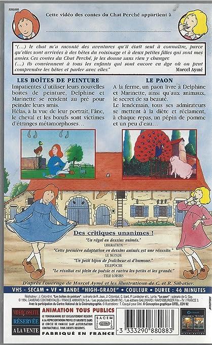 Amazon Com Les Contes Du Chat Perche Les Boites De Peinture Et Le