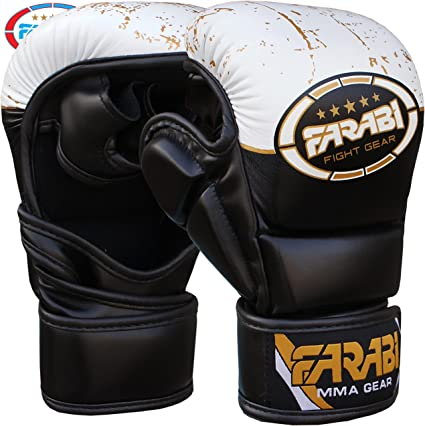 Farabi Boxing Gloves Sparring MMA Punch Bag Gloves Thai Grappling Fight Gloves