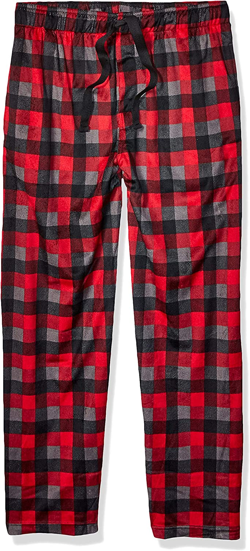 Izod Mens Matte Silky Fleece Sleep Pant Pajama Bottom