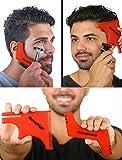 RevoBeard & RevoHair - Beard Shaping & Haircut Tool - For Hairline Lineup, Edge up - Template/Stencil for Trimming Beard…