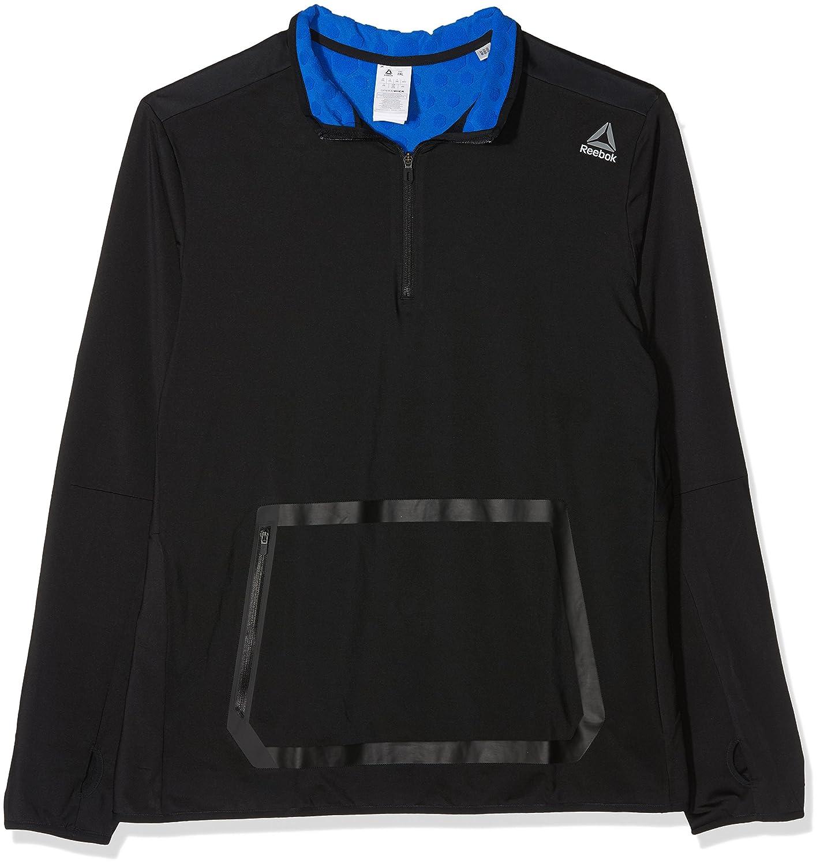 Reebok hexawarm Quarter Zip Sweatshirt, Herren
