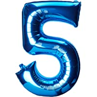 "Anagram Balloons 2828501 Foil Balloon, 34"", Blue"