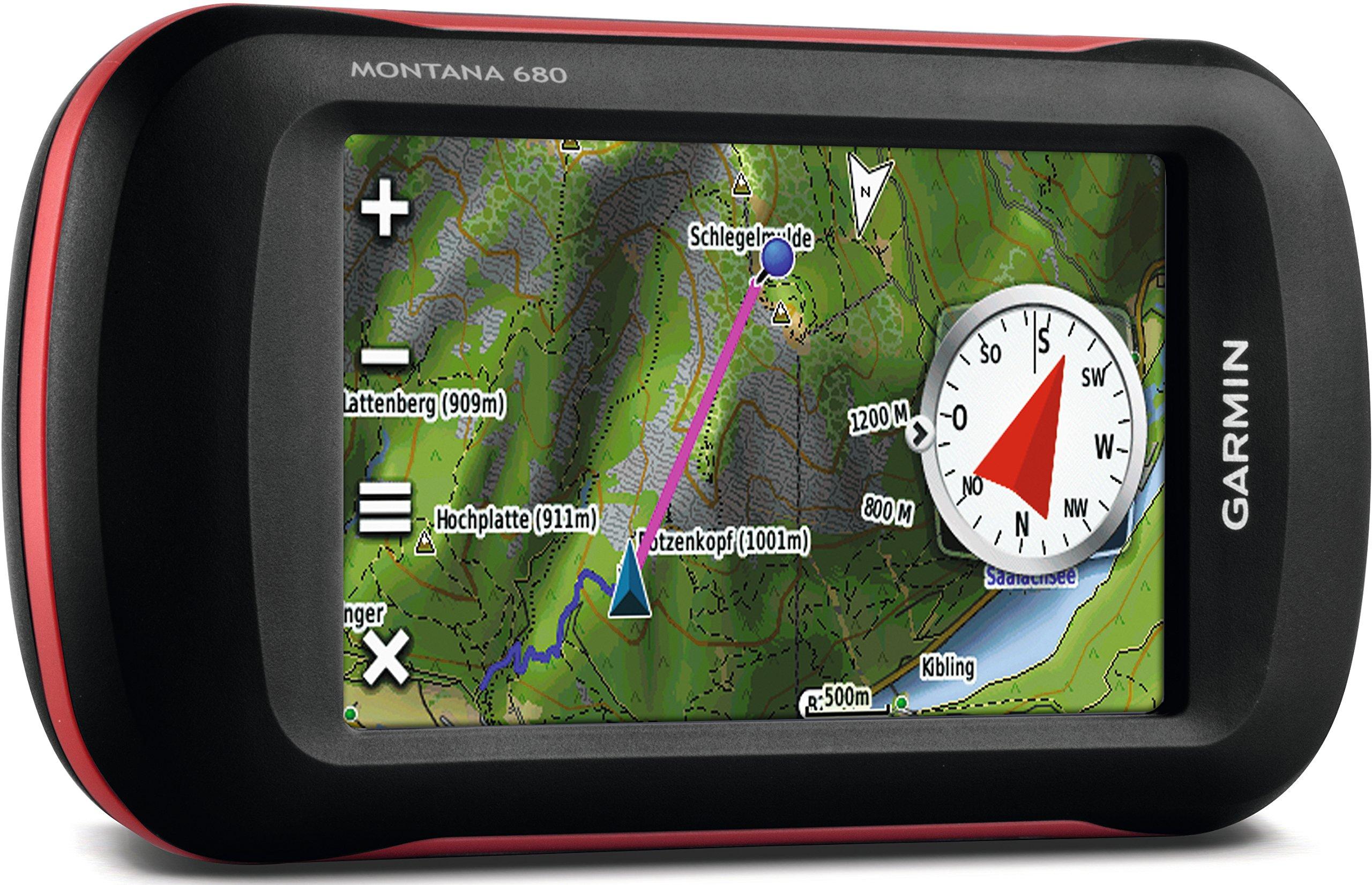Garmin Montana 680 Touchscreen GPS/GLONASS Receiver, Worldwide Basemaps by Garmin (Image #3)