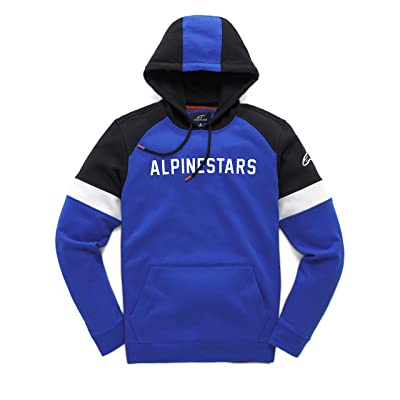 Alpinestars Men's Leader Hoody,Large,Blue: Clothing