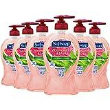 Softsoap Hydrating Liquid Hand Soap Pump Watermelon & Mint 332 Ml, 6 Count
