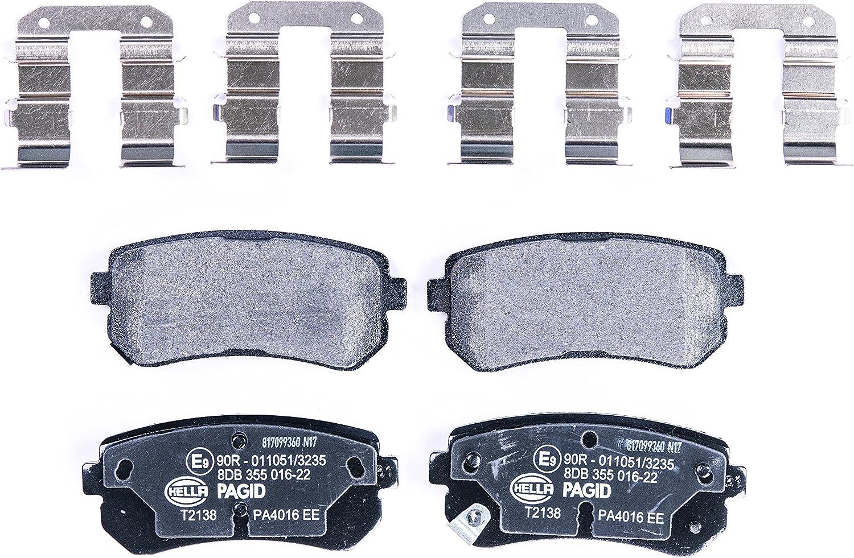 PASTIGLIE freno posteriore DELPHI HYUNDAI ix35 1.7 CRDi 2.0 2.0 4x4 2.0 CRDi 2.0 CRDi 4x4