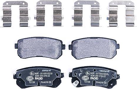 Bremsbelagsatz Hinterachse für Kia Sportage 1.6 Gdi SL