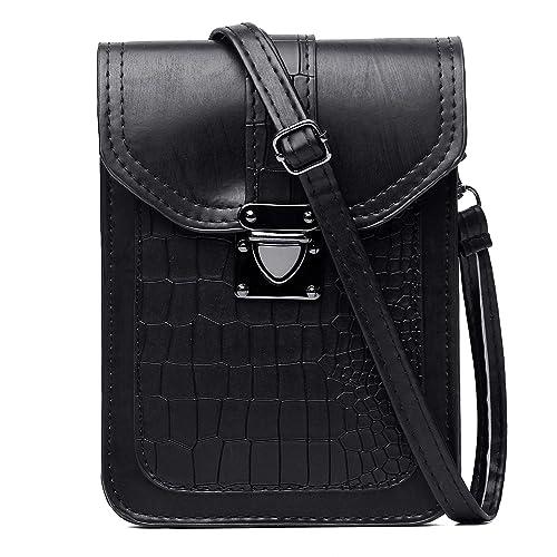 ff3b371cb VOLGANIK ROCK Women Synthetic Leather Small Crossbody Purse, Crocdile  Pattern Cell Phone Purse Wallet Bags: Handbags: Amazon.com