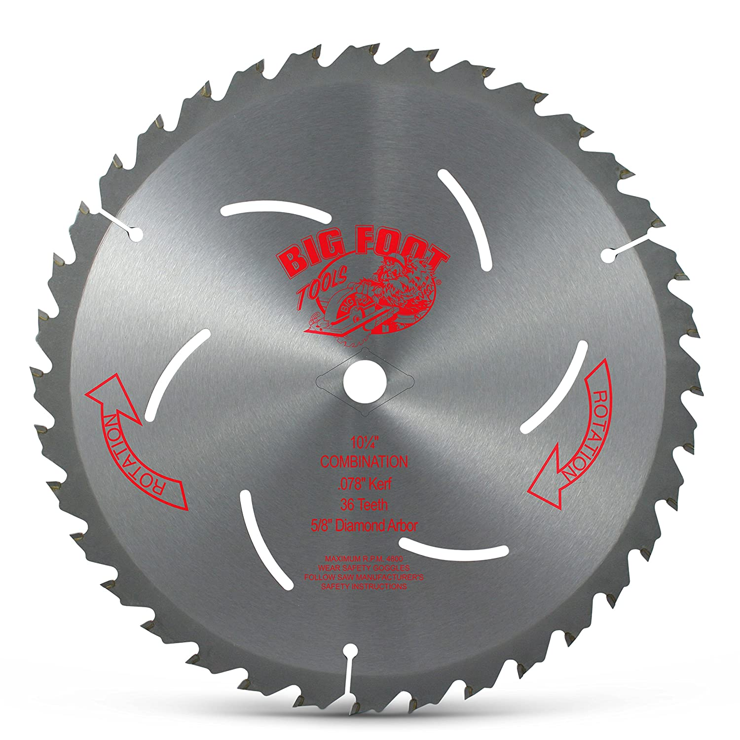 Big foot 10 14 36 tooth carbide tip blade miter saw blades big foot 10 14 36 tooth carbide tip blade miter saw blades amazon greentooth Image collections