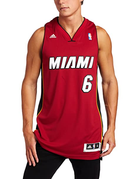 super popular 6c600 38731 NBA Miami Heat LeBron James Swingman Jersey, Maroon