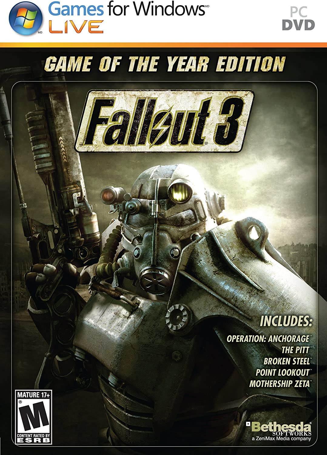 Amazon com: Fallout 3: Game of The Year Edition - Playstation 3