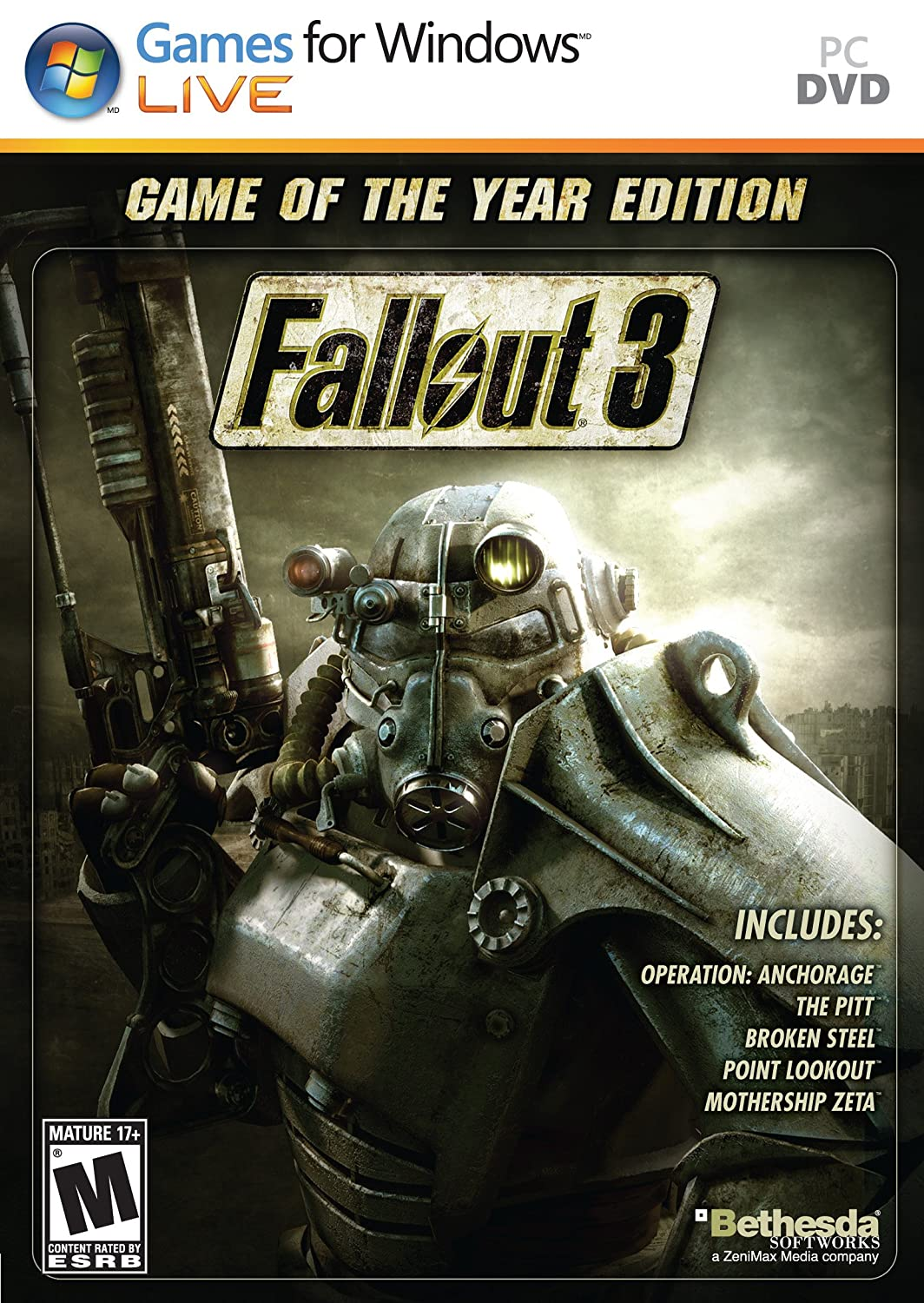 Fallout 3 -PC Game of the Year Edition