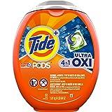 Tide Pods Ultra Oxi Liquid Detergent Pacs, 61 Count