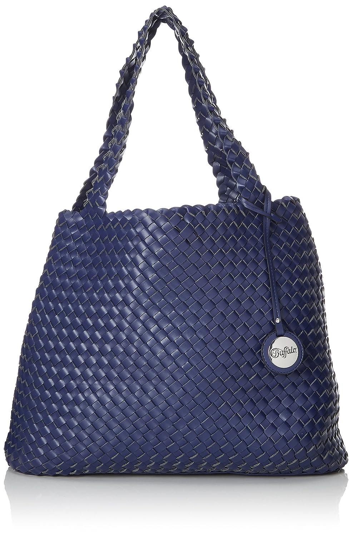 189789, Womens Shoulder Bag, Blue (Blue 41), 19x30x40 cm (B x H T) Buffalo