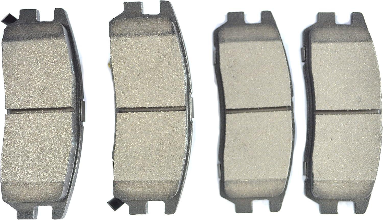 Dash4 MD815A Semi-Metallic Brake Pad