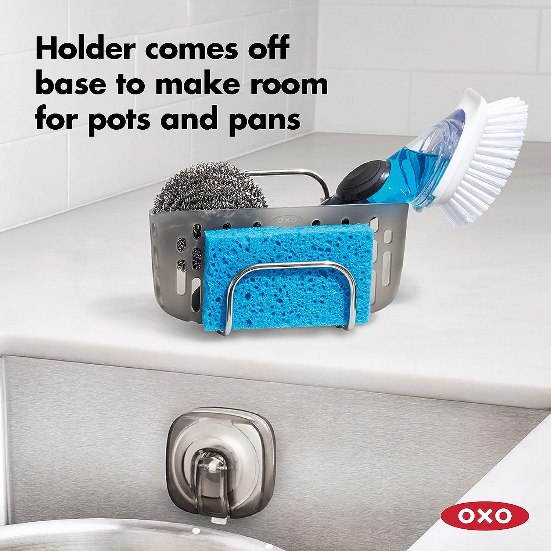 OXO Good Grips StrongHold Suction Sponge Holder