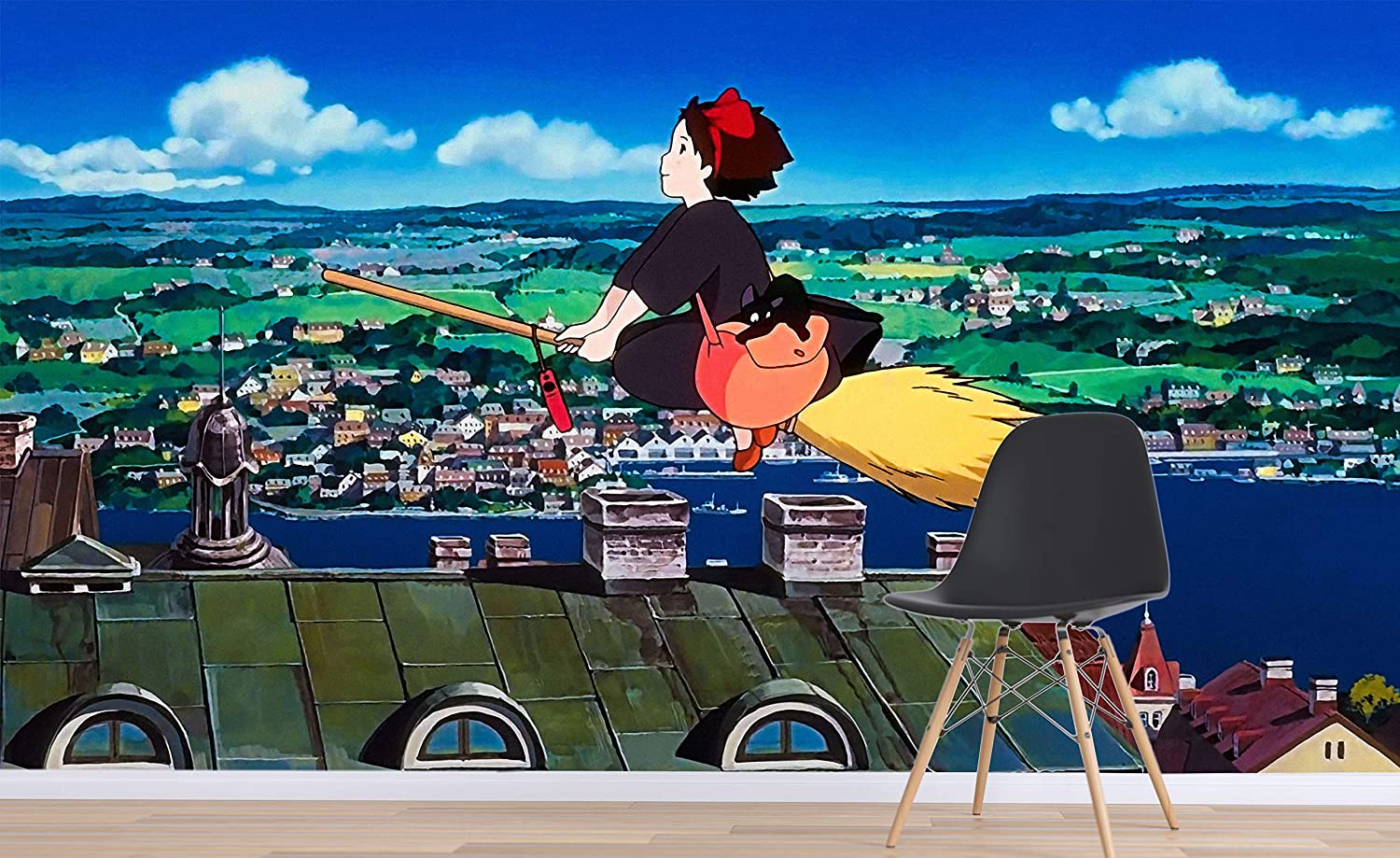 3d Kiki S Delivery Service 102 Japan Anime Wall Paper Print Decal