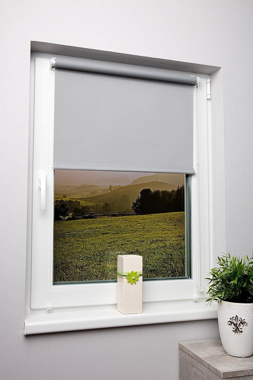 luz de día Estor gris 80 x 210 cm ideal para balcón puertas – deja ...