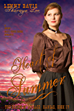 Heart of Summer: A Sweet, Clean Mail Order Groom Western Romance (The Brides of Courage, Kansas Book 4)