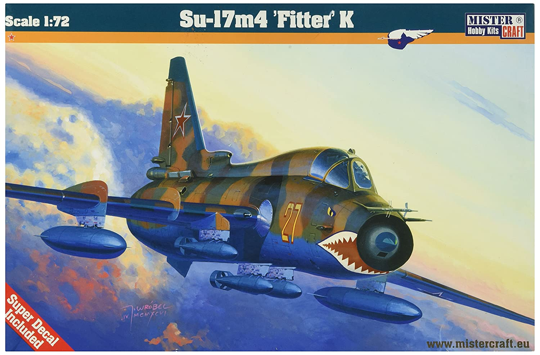 Resultado de imagem para 1/72 mistercraft su-17