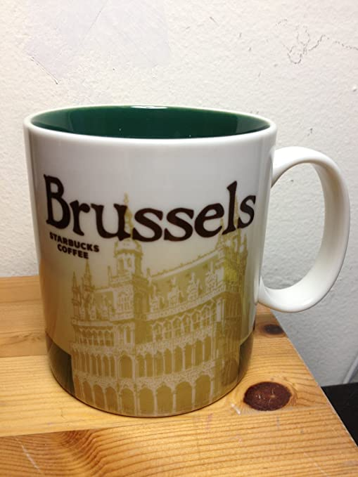 Starbucks Global Icon Series Brussels City Mug