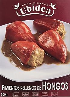 Pimientos Rellenos de Hongos - Ubidea - 3 platos