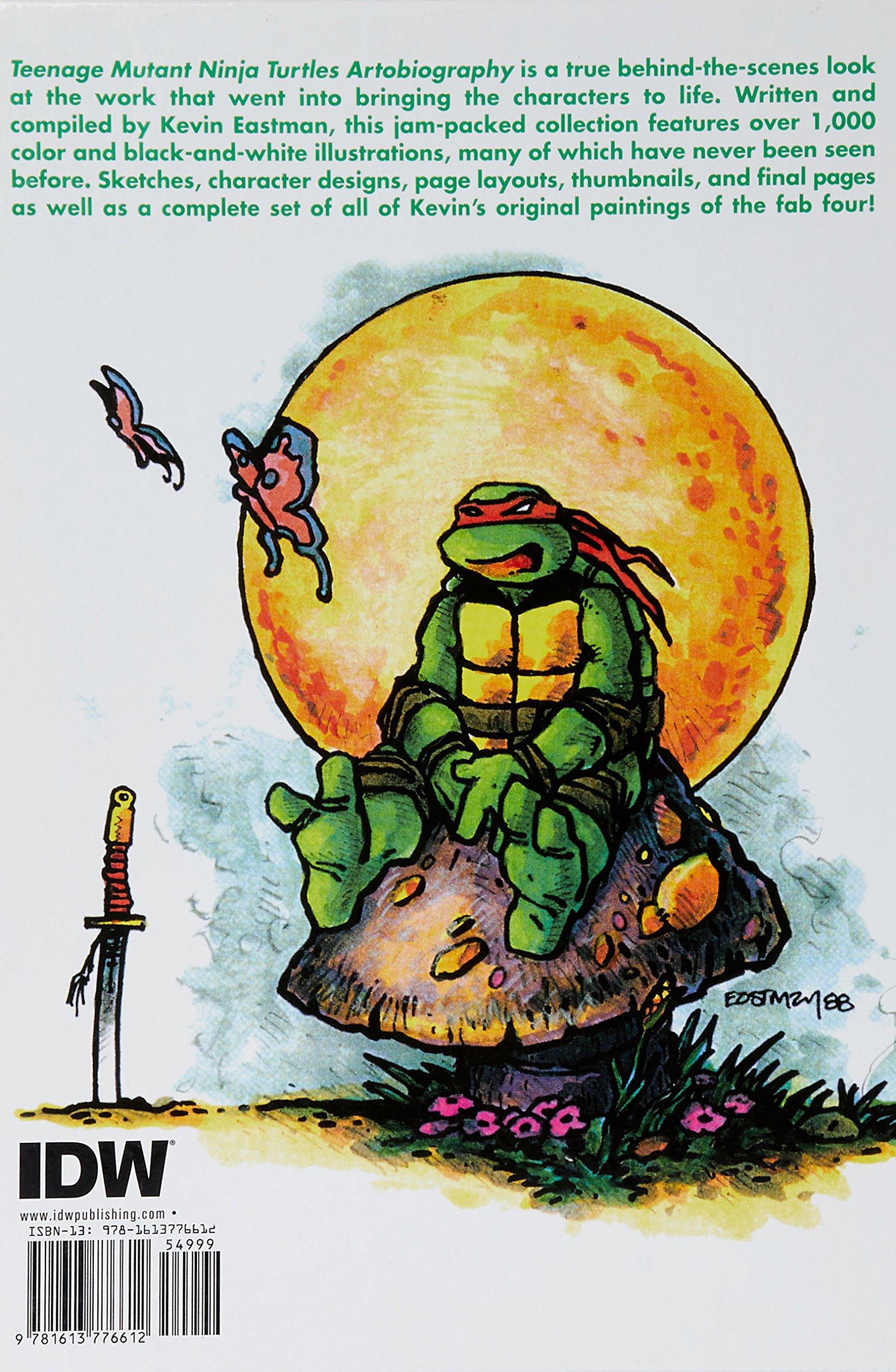 Teenage Mutant Ninja Turtles Artobiography: Amazon.es: Kevin ...
