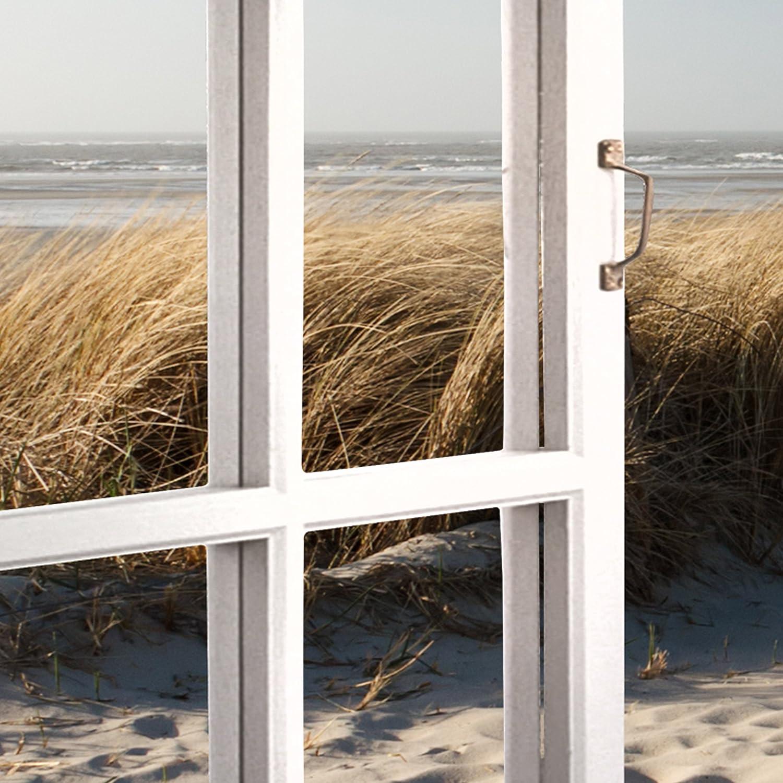 Decomonkey   Mega XXXL Bilder Strand Meer     Wandbild Leinwand 165x110 cm Einteiliger XXL Kunstdruck zum aufhängen   Landschaft Natur 9c0dbd