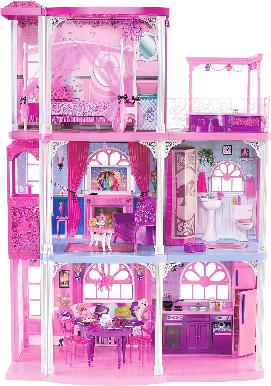 Barbie N7666 0 Villa Dei Sogni A Tre Piani Amazon It Giochi E Giocattoli