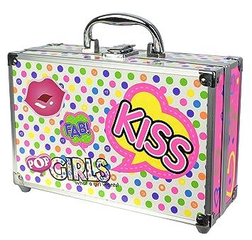 POP- Beauty train case, Color blanco (Markwins 3704710)