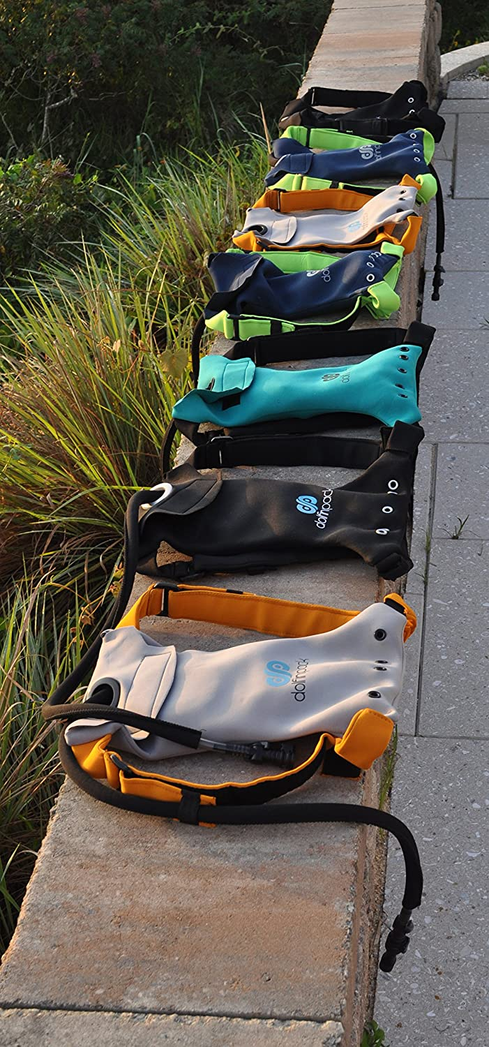 DolfinPack Lightweight Extreme Sports Hydration Pack Waterproof Form-fitting