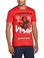 Led Zeppelin Men's Japanese Promo Poster Short Sleeve T-Shirt