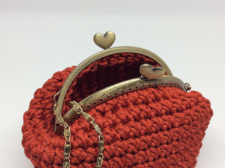 CLOE - Italian Handmade - Monedero hecho a mano. Crochet ...